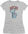 Rocky juniors t-shirt In Training silver