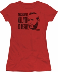 Rocky juniors t-shirt Kill You To Death red