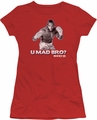 Rocky juniors t-shirt U Mad Bro red