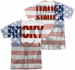 Rocky mens full sublimation t-shirt America