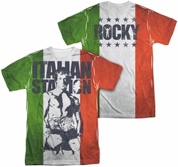 Rocky mens full sublimation t-shirt Stallion