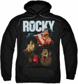 Rocky pull-over hoodie I Did It adult black