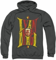 Rocky pull-over hoodie Ivan adult charcoal
