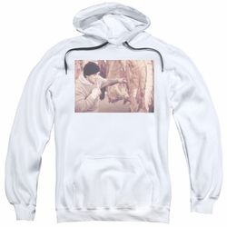 Rocky pull-over hoodie Meat Locker adult white