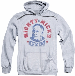 Rocky pull-over hoodie Micks Gym adult athletic heather