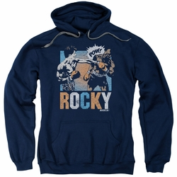Rocky pull-over hoodie Rocky Pow adult navy
