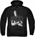 Rocky pull-over hoodie Shirt adult black