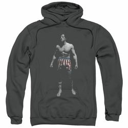 Rocky pull-over hoodie Stand Alone adult charcoal