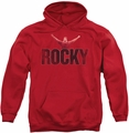 Rocky pull-over hoodie Victory Distressed adult red