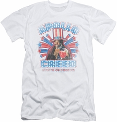 Rocky slim-fit t-shirt Apollo Creed mens white