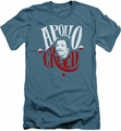 Rocky slim-fit t-shirt Apollo Sign mens slate