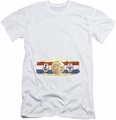 Rocky slim-fit t-shirt Championship Belt mens white