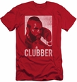 Rocky slim-fit t-shirt Clubber Lang mens red