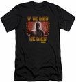 Rocky slim-fit t-shirt Condolences mens black