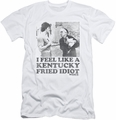 Rocky slim-fit t-shirt Fried Idiot mens white