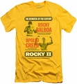 Rocky slim-fit t-shirt Rematch mens yellow