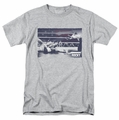 Rocky t-shirt American Will mens athletic heather