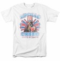 Rocky t-shirt Apollo Creed mens white