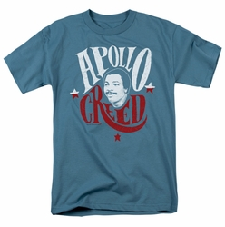 Rocky t-shirt Apollo Sign mens slate
