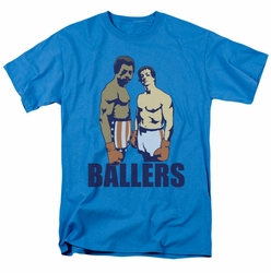 Rocky t-shirt Ballers mens turquoise