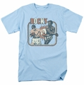 Rocky t-shirt Big Fight mens light blue