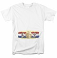 Rocky t-shirt Championship Belt Bottom Front mens white