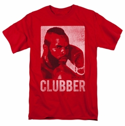 Rocky t-shirt Clubber Lang mens red