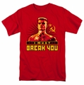 Rocky t-shirt I Must Break You mens red
