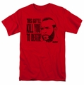 Rocky t-shirt Kill You To Death mens red
