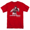 Rocky t-shirt U Mad Bro mens red