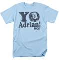 Rocky t-shirt Yo Adrian mens light blue