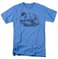 Rocky t-shirt You're A Bum mens carolina blue