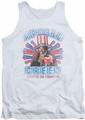 Rocky tank top Apollo Creed mens white