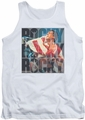 Rocky tank top Chant mens white