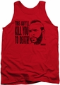 Rocky tank top Kill you to Death mens red