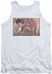Rocky tank top Meat Locker mens white