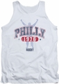 Rocky tank top Philly 1976 mens white