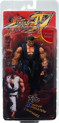 Ryu action figure Street Fighter IV Survival Mode *bad packaging*