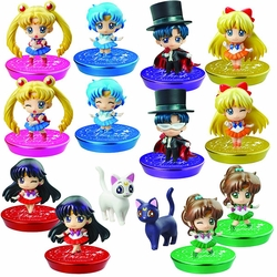 Sailor Moon Ps Pcl Glitter Version 01 6-Piece Blind Box Display pre-order