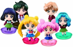 Sailor Moon Ps Petit Chara Land More School Life Limited Edition Set pre-order