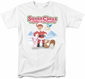 Santa Claus Is Coming To Town t-shirt Animal Friends mens white