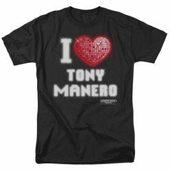 Saturday Night Fever t-shirt I Heart Tony mens black