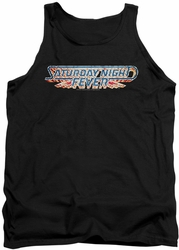 Saturday Night Fever tank top Logo mens black