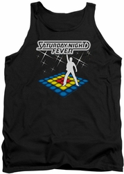 Saturday Night Fever tank top Should Be Dancing mens black