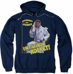 Saturday Night Live SNL pull-over hoodie Astronaut Jones adult navy