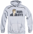 Saturday Night Live SNL pull-over hoodie Buh Bye adult athletic heather