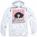 Saturday Night Live SNL pull-over hoodie Its Always Something adult white