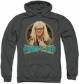 Saturday Night Live SNL pull-over hoodie Party On Garth adult charcoal