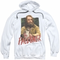 Saturday Night Live SNL pull-over hoodie The Falconer adult white