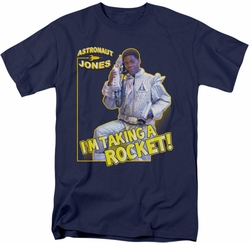 Saturday Night Live SNL t-shirt Astronaut Jones mens navy